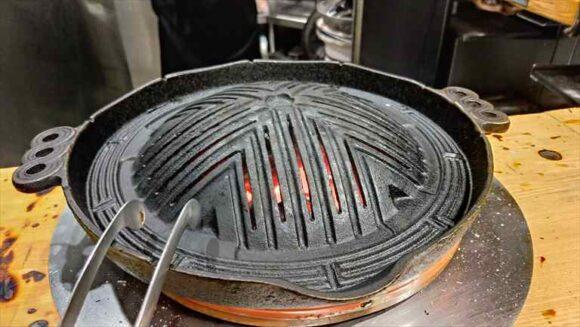 だるま(札幌ジンギスカン)の鍋
