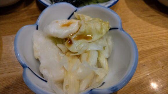 だるま(札幌ジンギスカン)のおしんこ