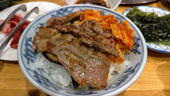 だるま(札幌ジンギスカン)のジンギスカン丼
