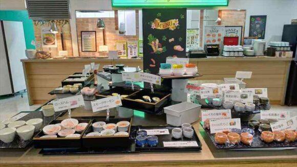 ANAホリディ・イン札幌すすきの朝食ブッフェ