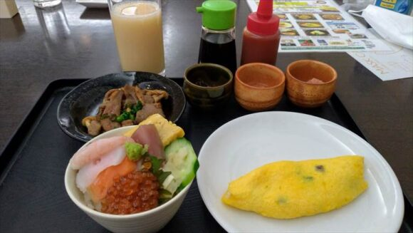 ANAホリディ・イン札幌すすきの朝食ブッフェのオーダーメニュー