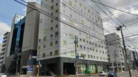 テンザホテル&スカイスパ・札幌セントラル外観画像