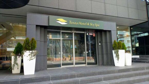 テンザホテル&スカイスパ・札幌セントラル本館入口