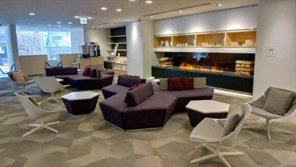 テンザホテル&スカイスパ・札幌セントラルの1階ロビー