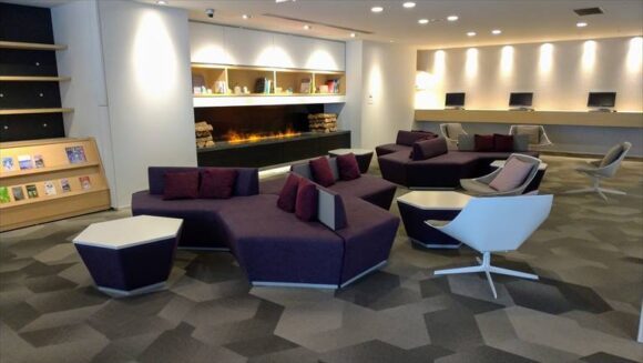 テンザホテル&スカイスパ・札幌セントラル1階ロビー