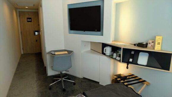 テンザホテル&スカイスパ・札幌セントラルの客室レビュー(新館ダブルルーム)