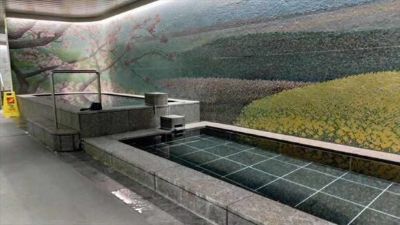 テンザホテル&スカイスパ・札幌セントラルの大浴場とサウナ
