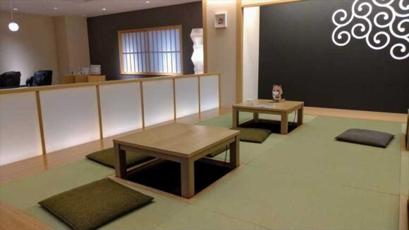 からくさホテル札幌の2階ラウンジ