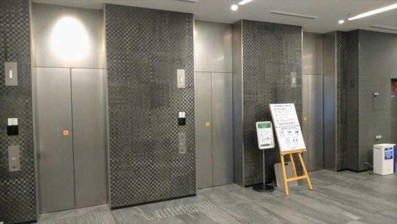 からくさホテル札幌のエレベーター