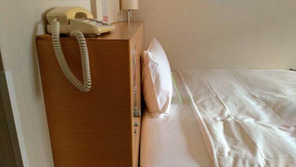 札幌ビューホテル大通公園の客室レビュー(シングルルーム)
