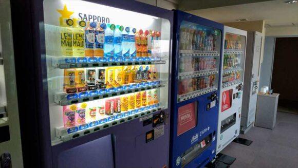 札幌ビューホテル大通公園の自動販売機