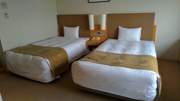 札幌ビューホテル大通公園の客室レビュー(ツインルーム)