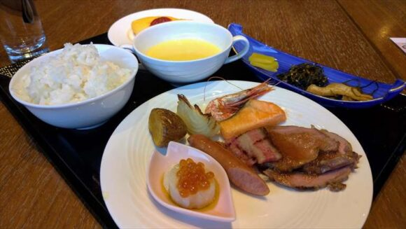 札幌ビューホテル大通公園の朝食ブッフェ