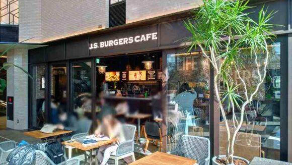 札幌駅ランチおすすめ「J.S.BURGERS CAFE 大同生命札幌ビル miredo店」