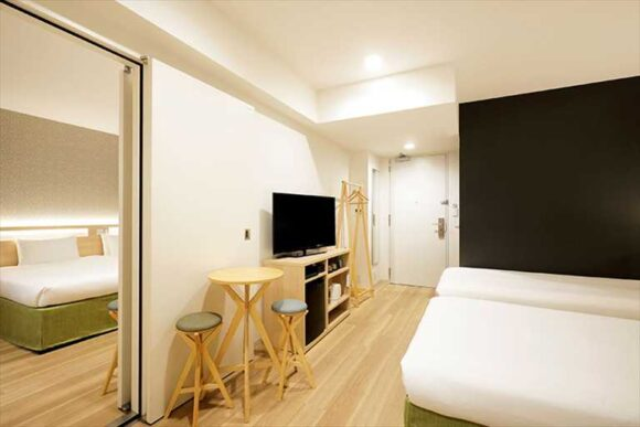 からくさホテル札幌のコネクティングルーム