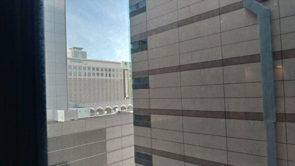 ソラリア西鉄ホテル札幌の道庁側でない客室眺望