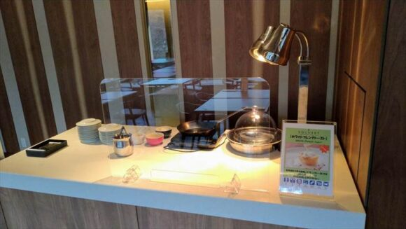 ソラリア西鉄ホテル札幌の朝食ブッフェ