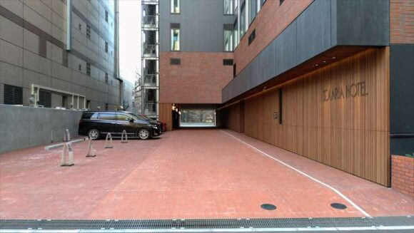 ソラリア西鉄ホテル札幌の駐車場