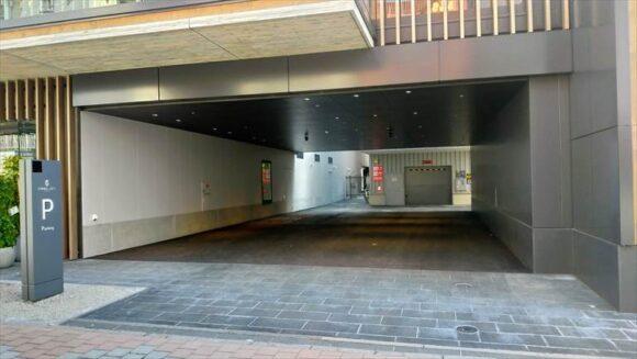 札幌グランベルホテルの駐車場