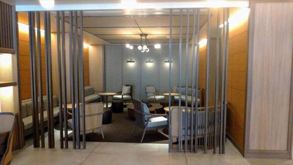 札幌グランベルホテルの1階ラウンジ