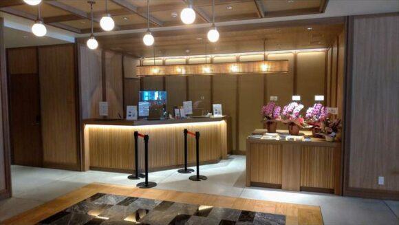 札幌グランベルホテルのフロント