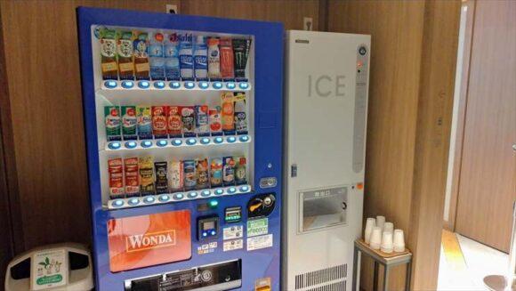 札幌グランベルホテルの自動販売機・製氷機