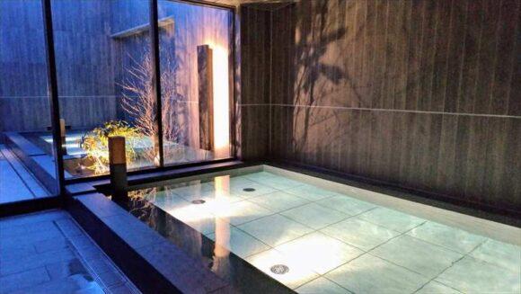 札幌グランベルホテルの夜間大浴場