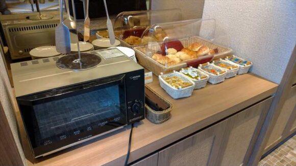 札幌グランベルホテルの朝食ブッフェ