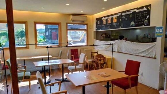 コッコテラスのカフェ