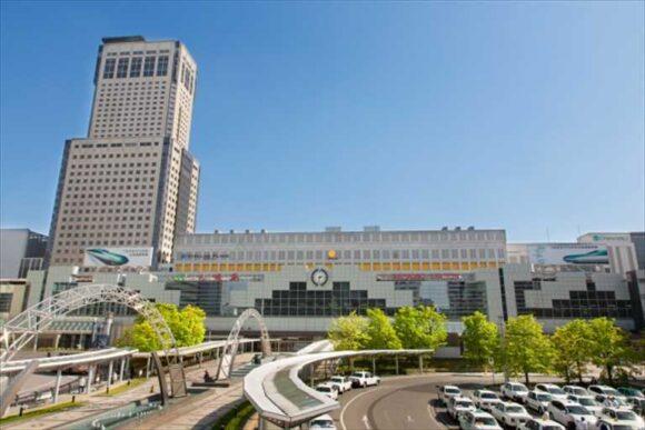 札幌駅から新千歳空港へタクシー移動