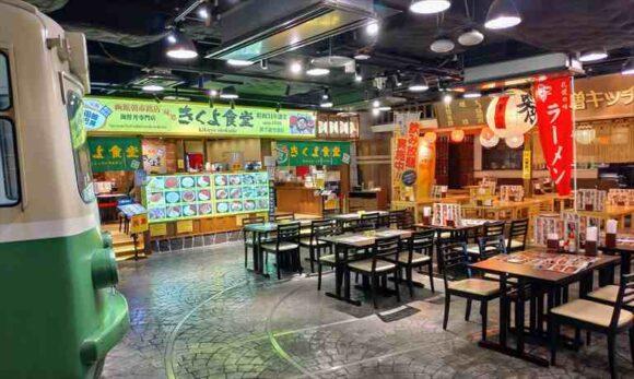 新千歳空港グルメおすすめ④海鮮丼 きくよ食堂