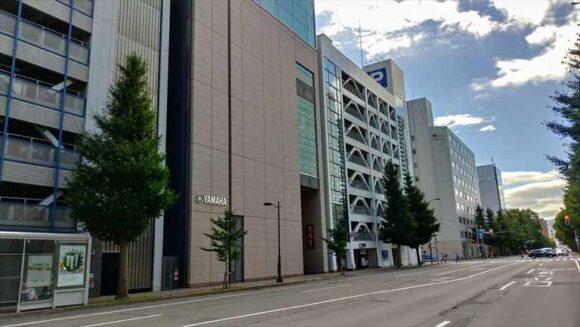 六花亭札幌本店の外観