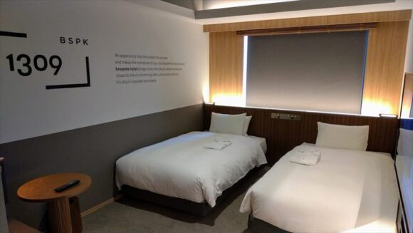 ビスポークホテル札幌のスタンダードツイン