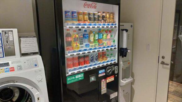 ビスポークホテル札幌の自動販売機&製氷機