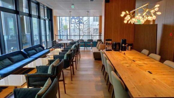 ビスポークホテル札幌の2階レストラン