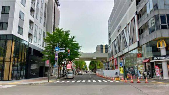 ビスポークホテル札幌とマクドナルド 札幌南二条店