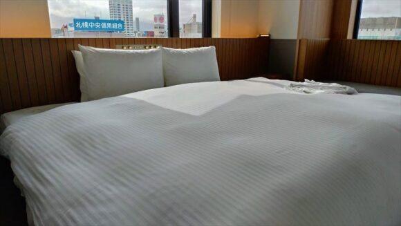 ビスポークホテル札幌のコーナーキングダブル