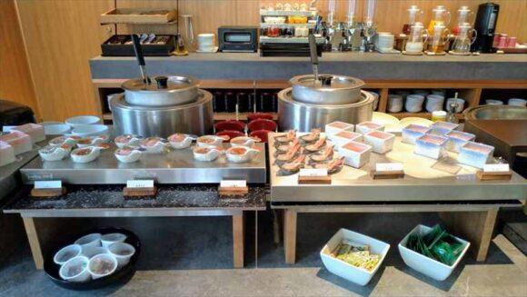 ビスポークホテル札幌の朝食ブッフェバイキング