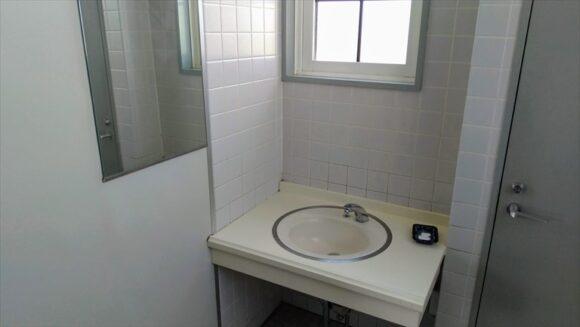 しのつ公園キャンプ場のトイレ