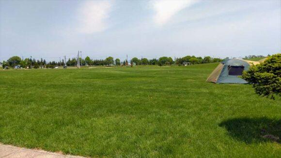 しのつ公園キャンプ場フリーサイト