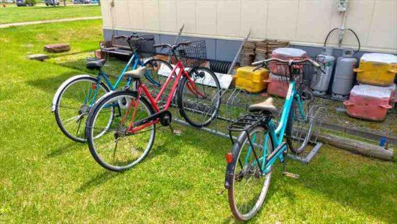 しのつ公園キャンプ場のレンタル自転車