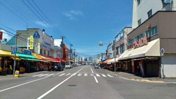 札幌場外市場のメインストリート