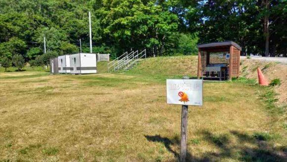 厚田キャンプ場(石狩)のフリーサイトB