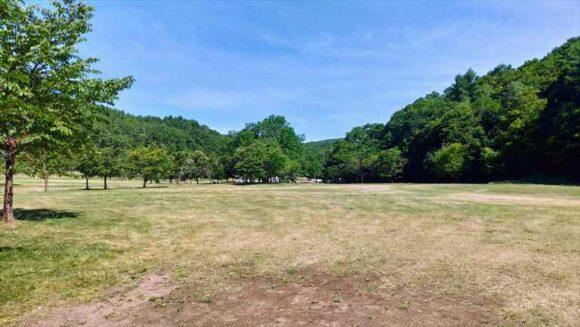 厚田キャンプ場(石狩)のフリーサイトC