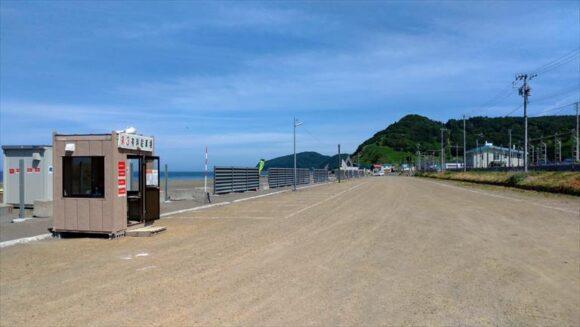 浜益川下海浜公園キャンプ場第3駐車場