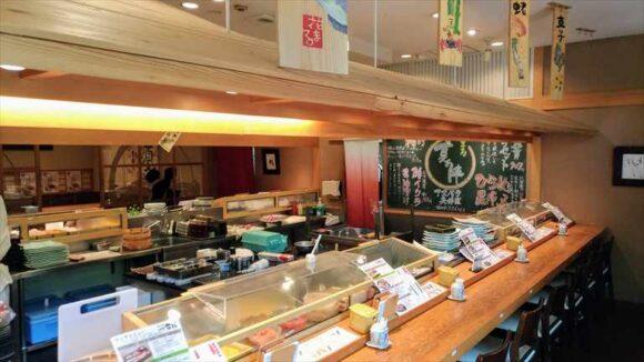札幌駅ランチおすすめ「四季花まる」時計台店の店内