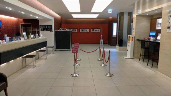 メルキュールホテル札幌フロント階