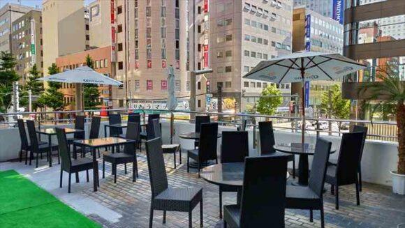 札幌ビアガーデンおすすめ「プレミアムリゾートテラス」(東急百貨店2階)