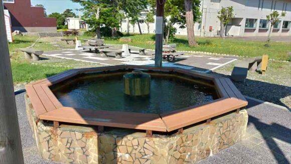 北村温泉の無料足湯