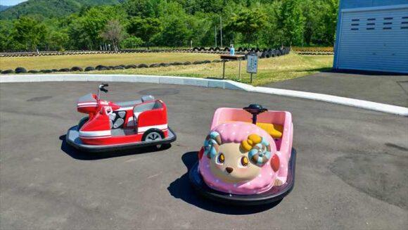 ファミリーランドみかさ遊園のバッテリーカー